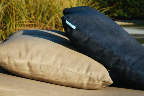 Emma White Outdoor Cushion