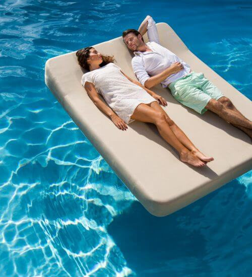 Luxury pool float by Mr Blue Sky