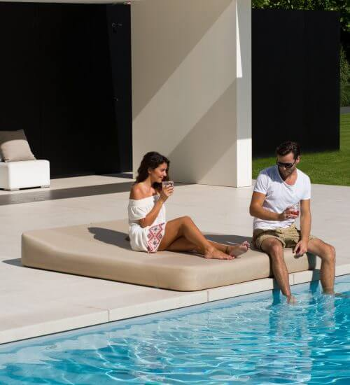 Outdoor daybed by Mr Blue Sky