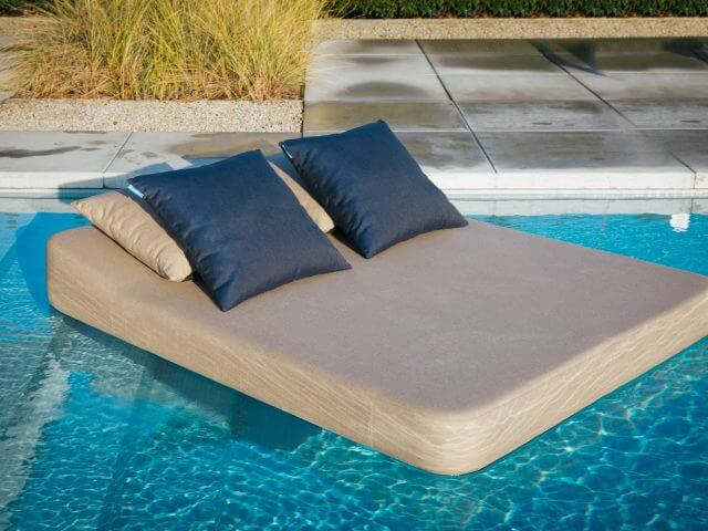 Tin Floating Lounger by Mr Blue Sky