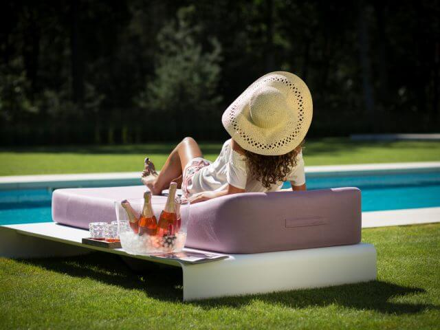 Mr Blue Sky Luxury Daybed