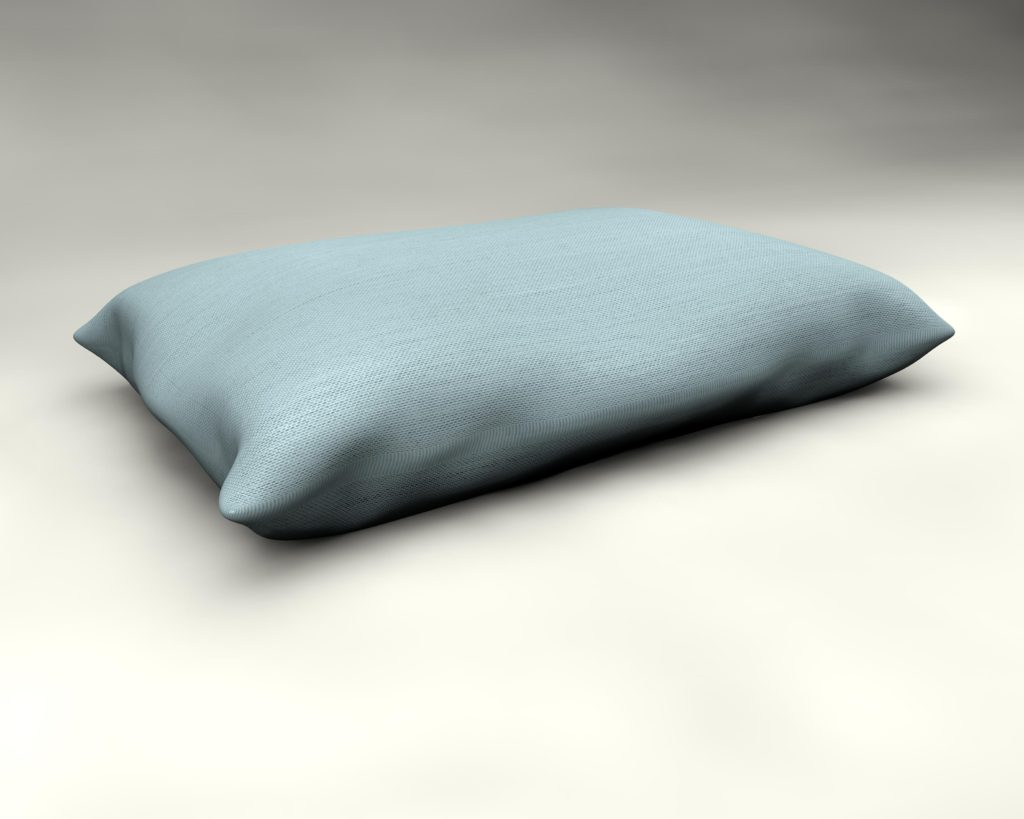 All weather pillow by Mr Blue Sky