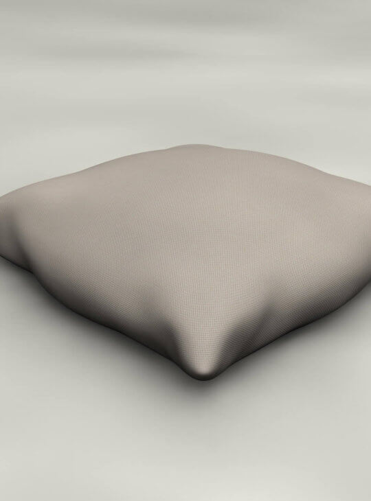 Emma Lounger Cushion Beige