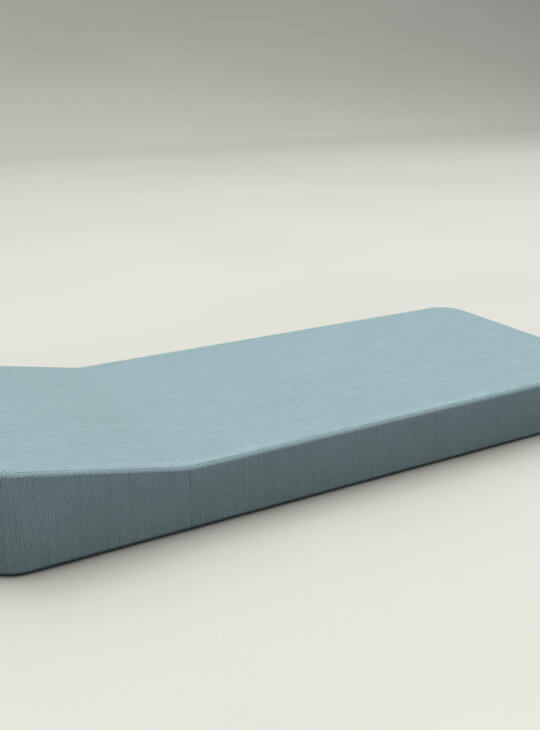 JACKIE Floating Lounger Extra Soft Blue