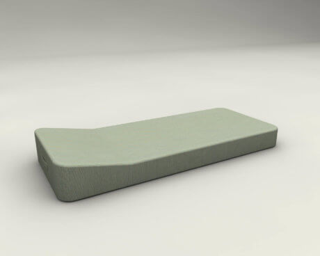 JACKIE Extra Soft Green Floating Lounger
