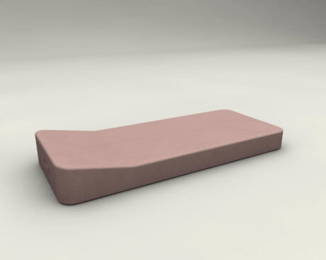JACKIE Floating Lounger Extra Soft Pink