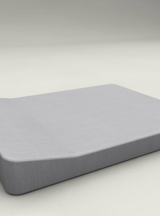 JACKIE TWIN Extra Soft Floating Lounger Grey