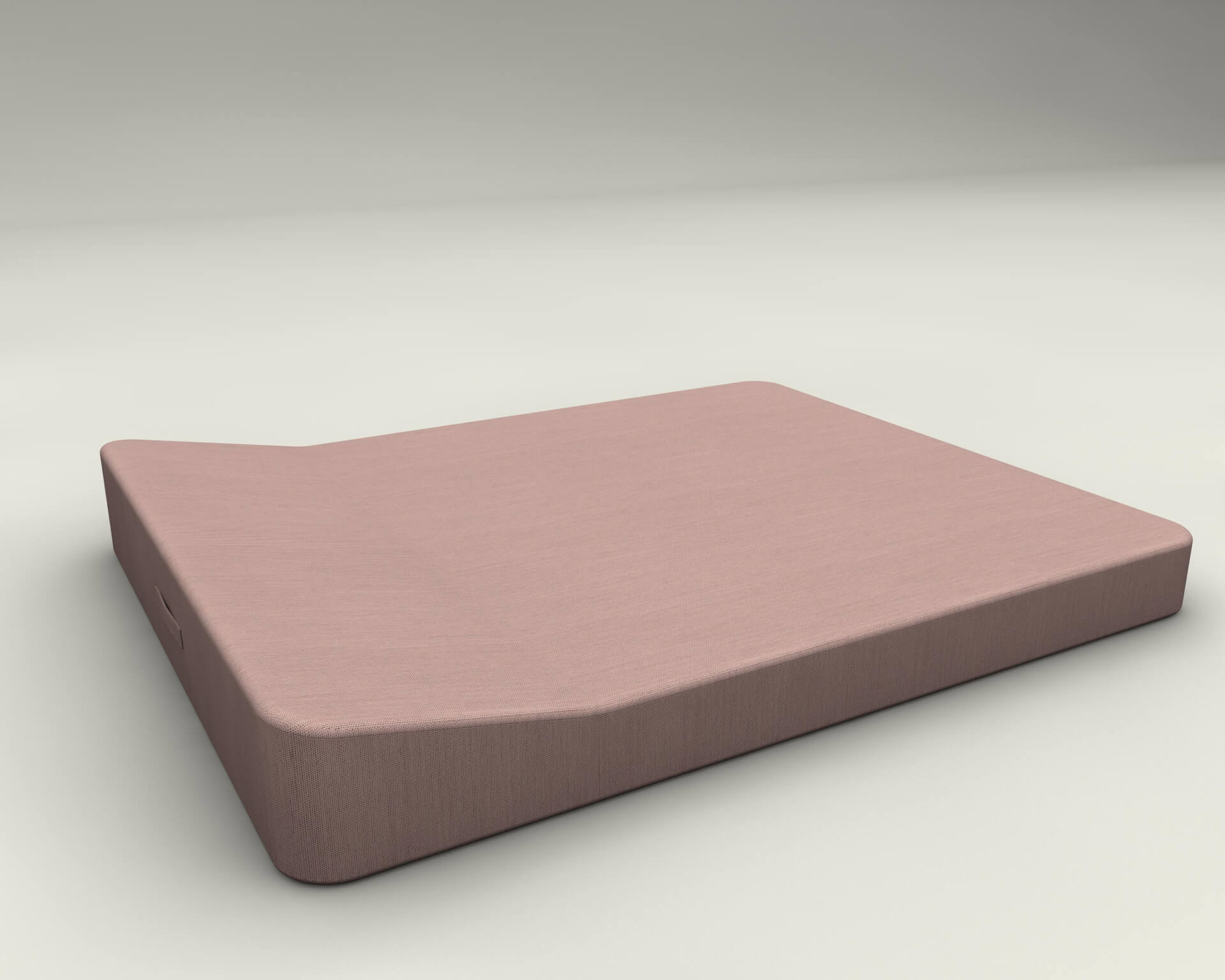 Jackie twin floating lounger extra soft pink mr blue sky