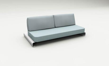 Joanne Outdoor Sofa Blue