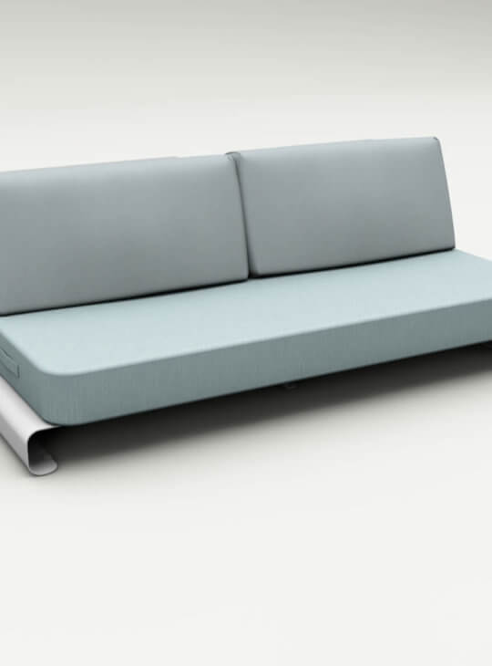 Joanne Outdoor Sofa Blue