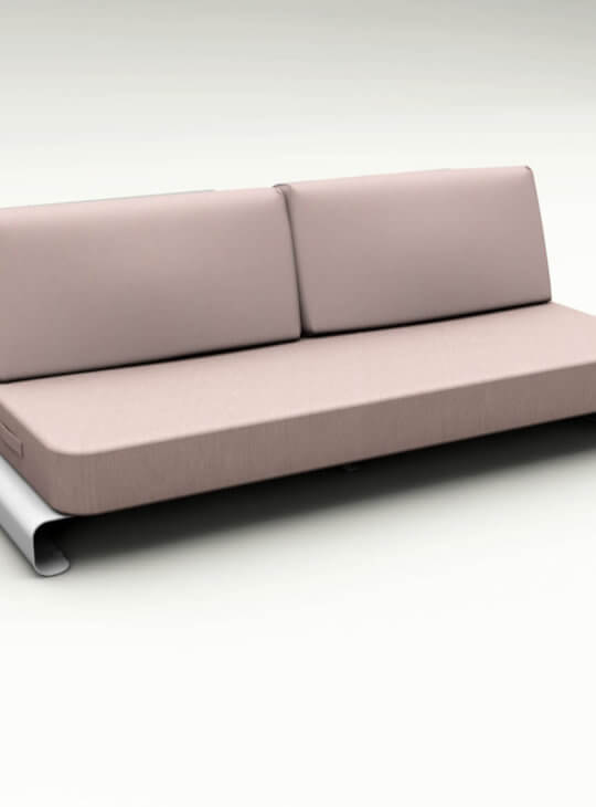 Joanne Outdoor Sofa Pink