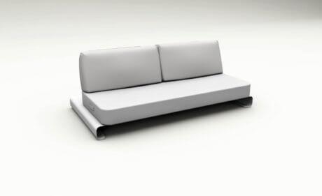 Joanne Outdoor Sofa White