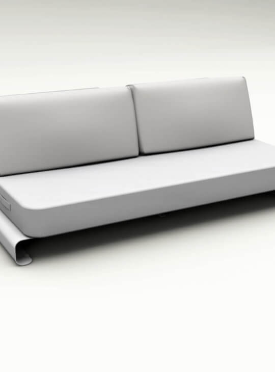 Joanne Outdoor Sofa White