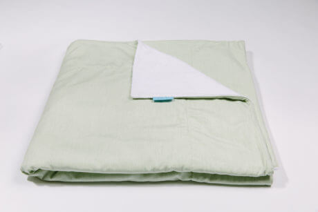 Outdoor Blanket Charlize Green Plaid Throw